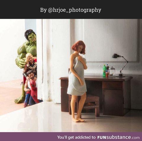 The Secret Life of Superhero Toys #11