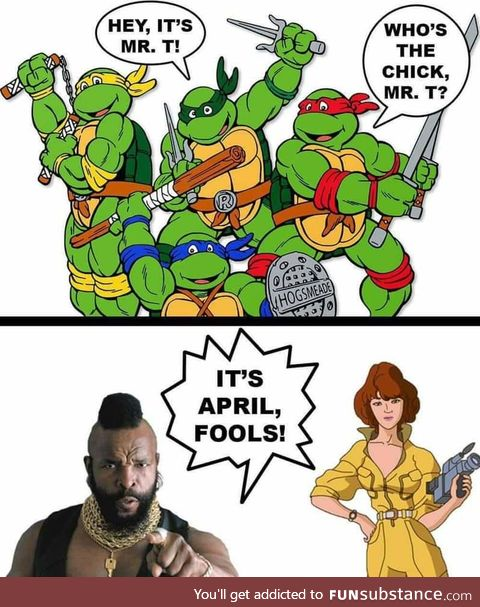 Pity the fool ..