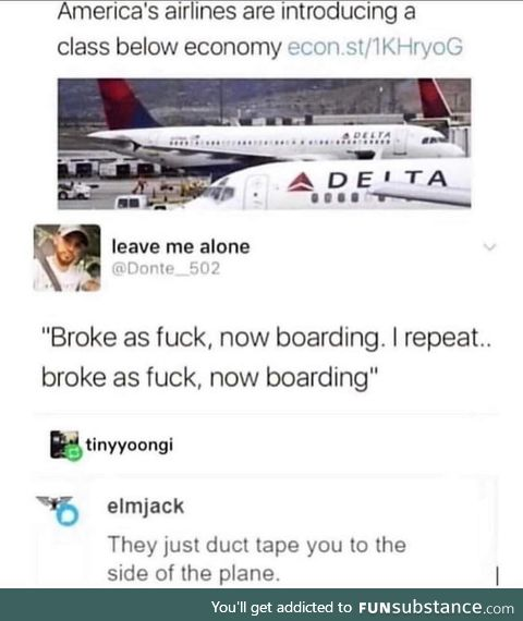 Finally I can board planes more frequently