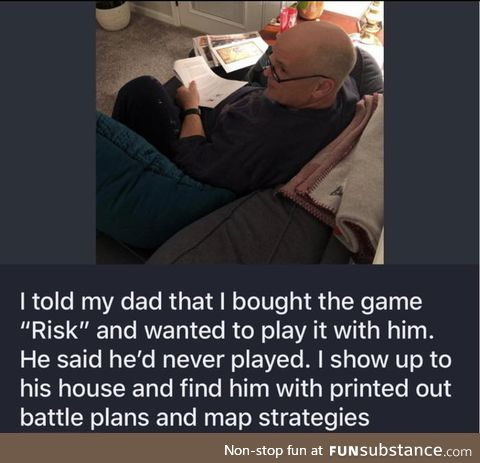 What a bro dad