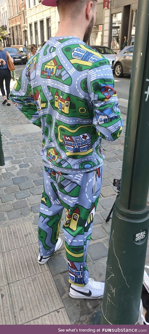 Shout-out to this guy in Brussels