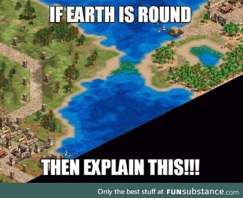 Round earthers destroyed
