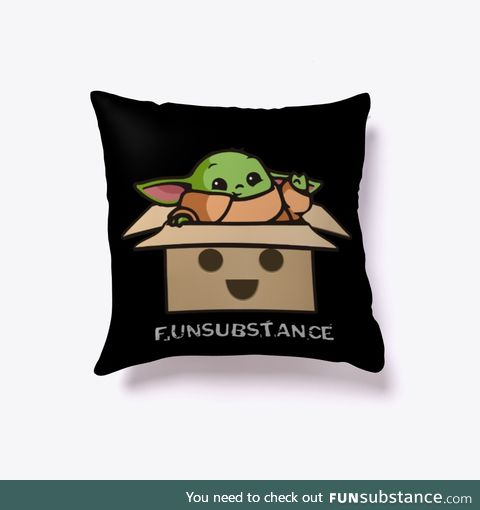 Yodasubstance Pillow