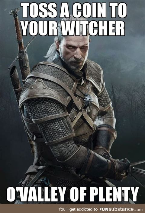 To all the Witcher fans