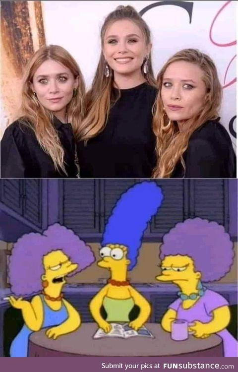 Those twins looks weird