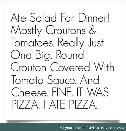Craving pizza so bad in this quarantine :(