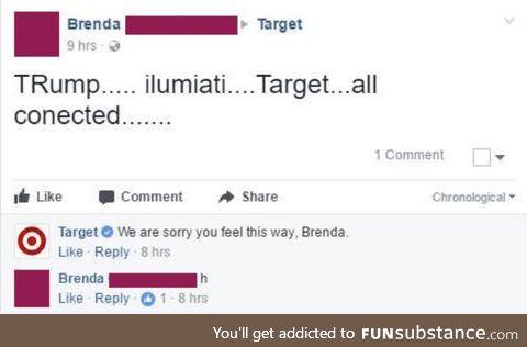 Target did 9/11