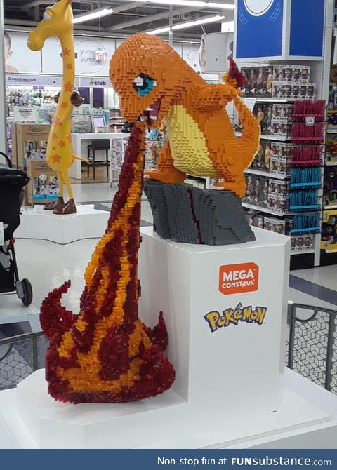 Charmander out of LEGOS