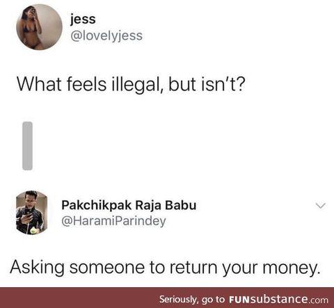 Feels Illegal but isn't