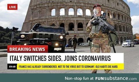 Typical italians.