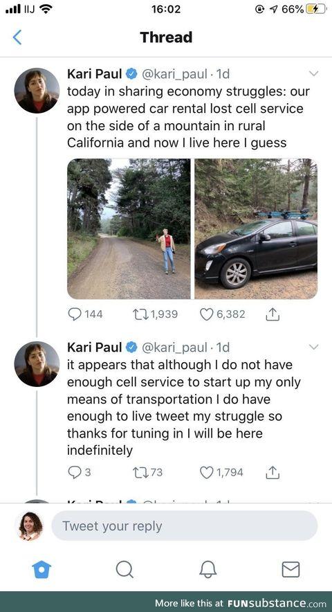 RIP In Peace Kari Paul. The future has betrayed you