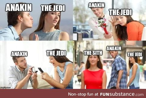 Star Wars in 4 pictures
