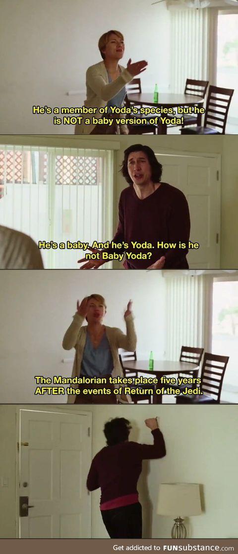 Baby yoda ?