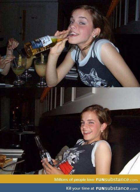 Emma Watson got corona!