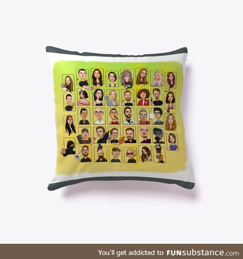 Funsubsters Pillow