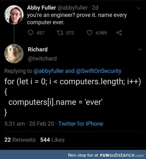 Naming every computer ever