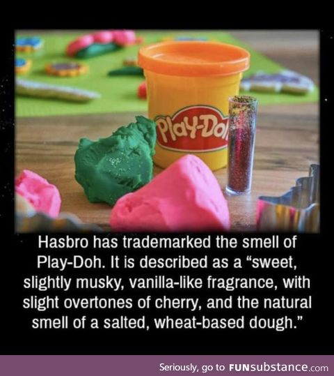 OK Play-Doh... Whatever you say