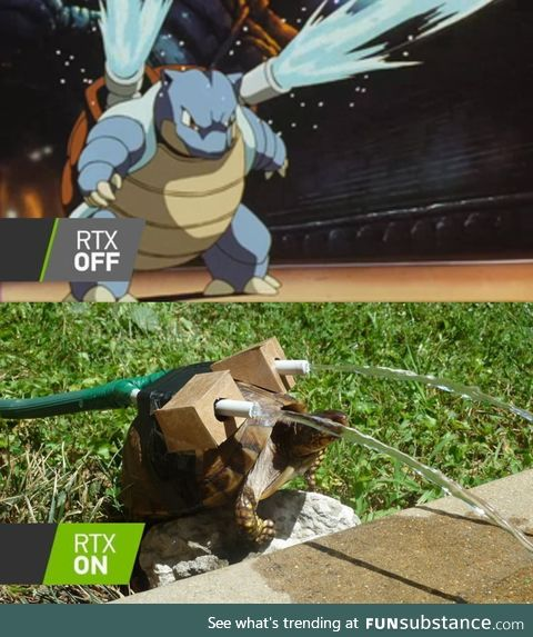 The rtx difference