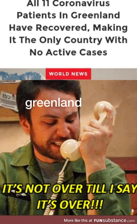 Greenland wins the pandemic