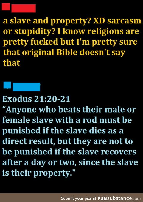 Theist are hypocrites or cherry-pickers? XD