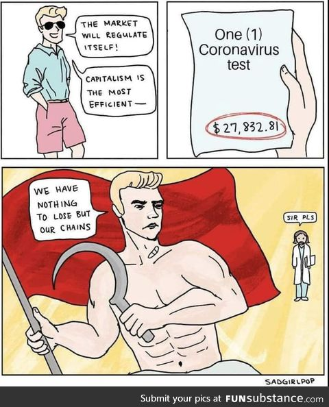 Coronavirus is going to turn us all into communists