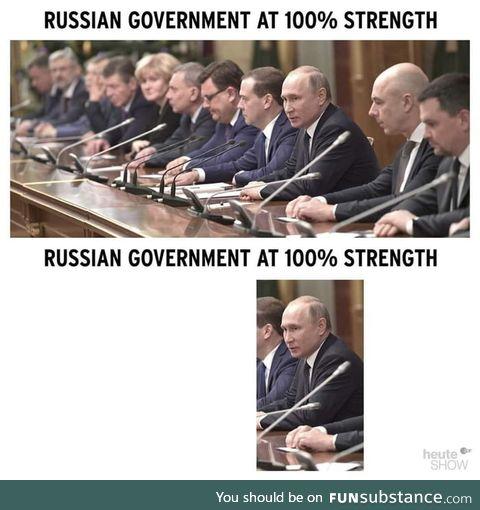 The great Putin