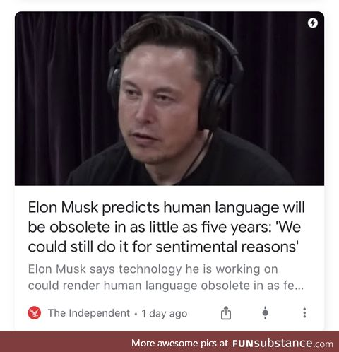 What are you doing now, Elon?