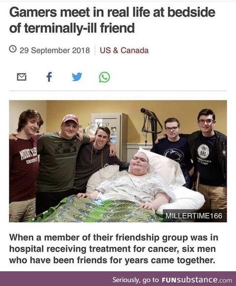 A gamers bonds are never broken