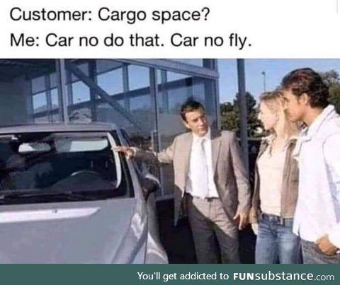 Cargo vroom