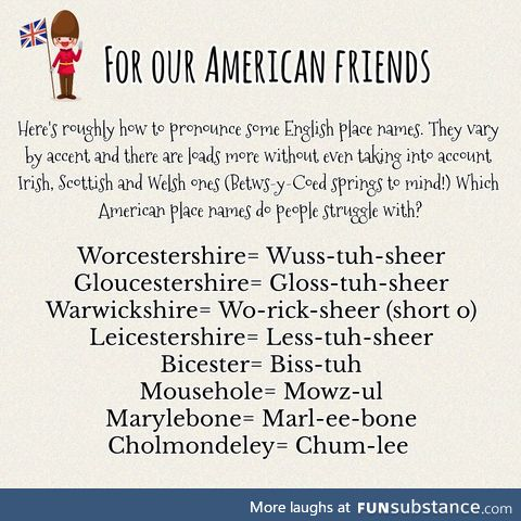 It's Worcestershire not Worcestershire