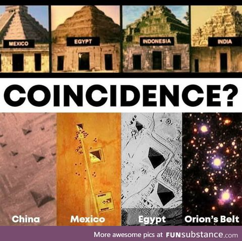 Coincidence or aliens?