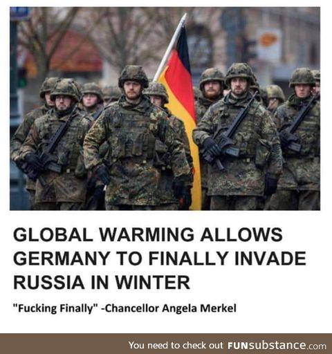 All hail Merkel