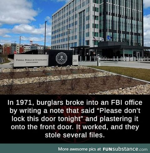 The FBI had a learning curve