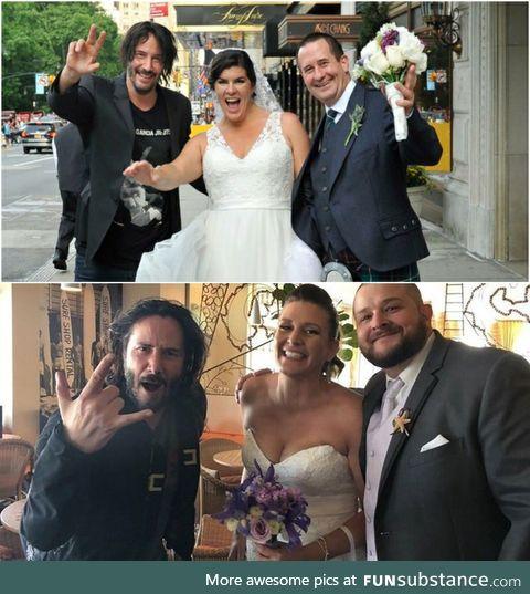 The 'One' crashing weddings instead of the matrix