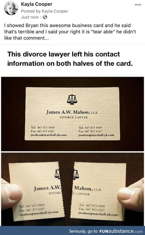 This lawyer was incredibly smart