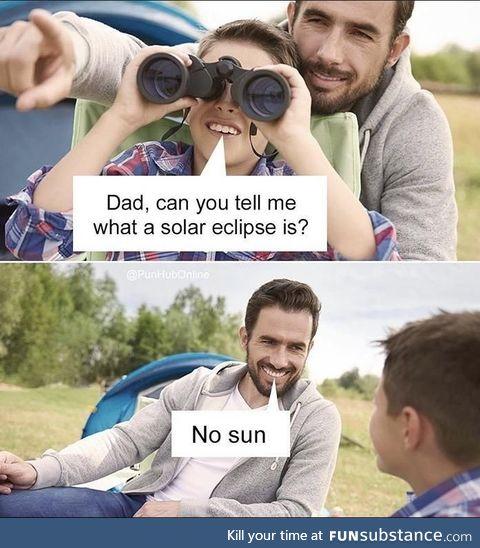Some dark humor .... Get it ?