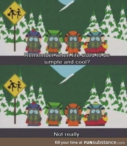 South Park called it