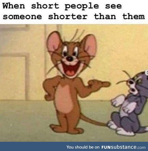 More like me when I see most everyone