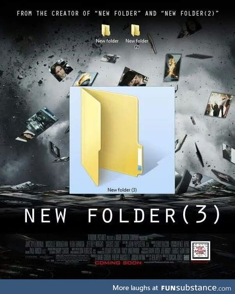 New folder returns