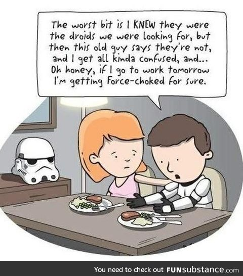 Life of the stormtrooper