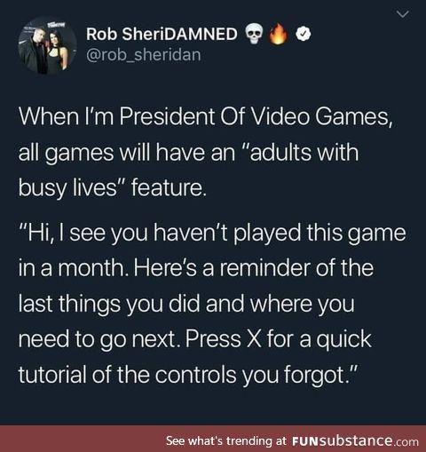 I'd buy those games