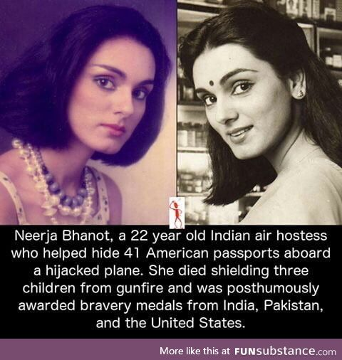 Neerja Bhanot , a brave savior & her sacrifice will be remembered forever