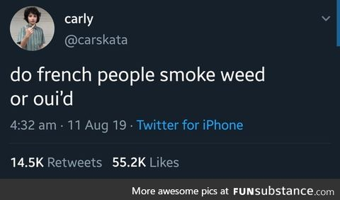 Carly asking the real questions here