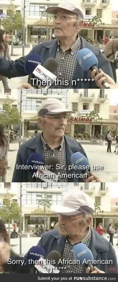 Gotta be politically correct