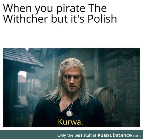 It makes sense because the original story is polish