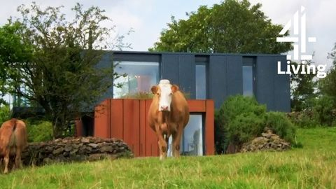 Shipping Container House in Ireland