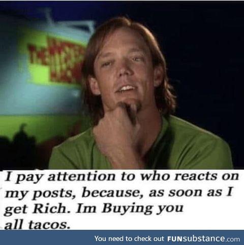 Ya wanna taco?
