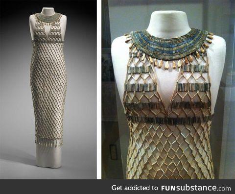 4.500 year old Egyptian sun dress