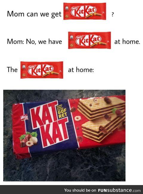 Kit Kat's evil twin brother