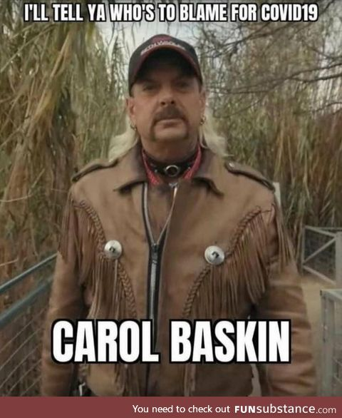 Carol did it